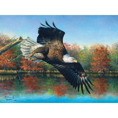 SunsOut - 1000 pieces - Abraham Hunter - Wetlands Eagle