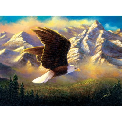 SunsOut - 1000 pieces - Abraham Hunter - Flying High