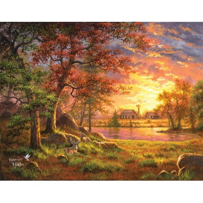 SunsOut - 1000 pieces - Abraham Hunter - A Place to Call Home