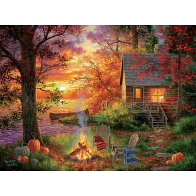 SunsOut - 300 pieces - XXL Pieces - Abraham Hunter - Sunset Serenity