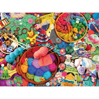 SunsOut - 1000 pieces - Kate Ward Thacker - The Artful Needle