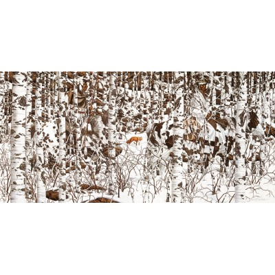 SunsOut - 1000 pieces - Bev Doolittle - Woodland Encounter