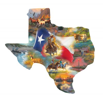 SunsOut - 1000 pieces - XXL Pieces - Mark Keathley - Images of Texas