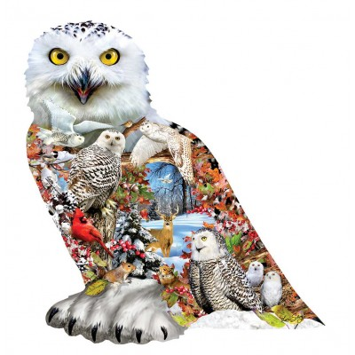 SunsOut - 650 pieces - Snowy Owl