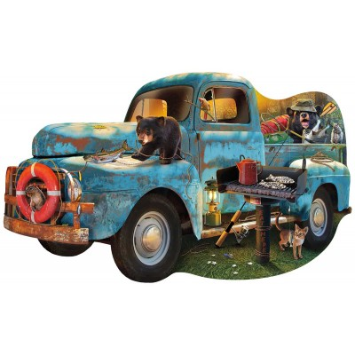 Bluebird-Puzzle - 1000 Teile - The Blue Truck