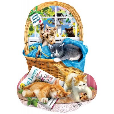 SunsOut - 1000 pieces - Lori Schory - Free Kitties