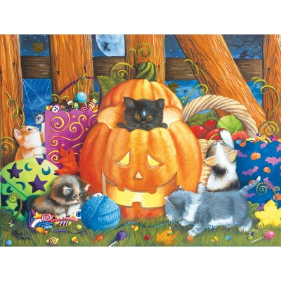 Puzzle  Sunsout-12544 XXL Pieces - Surprise Halloween