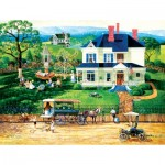 Puzzle  Sunsout-14083 XXL Pieces - The Ice Wagon