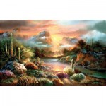 Puzzle  Sunsout-18002 XXL Pieces - James Lee - Sunset Splendor