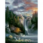 Puzzle  Sunsout-18034 XXL Pieces - James Lee - Misty Falls