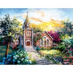Puzzle  Sunsout-19290 Pièces XXL - Nicky Boehme - A Tranquil Setting