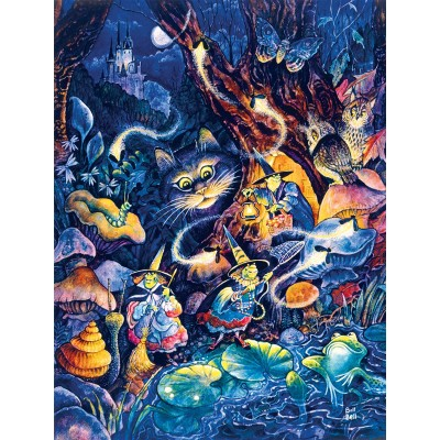 Puzzle  Sunsout-21871 XXL Pieces - Three Witches