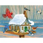 Puzzle  Sunsout-24610 XXL Pieces - Sunday Morning Gathering