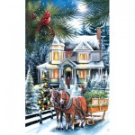 Puzzle  Sunsout-28526 XXL Pieces - Here Comes the Tree