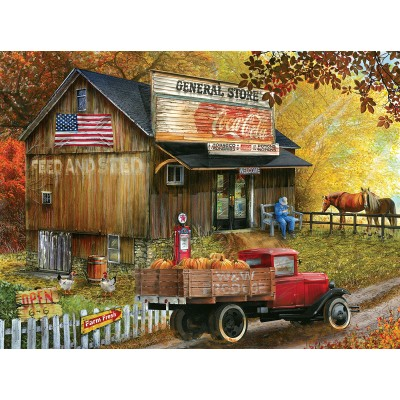 Puzzle  Sunsout-28624 XXL Pieces - Seed and Feed General Store