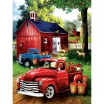 Puzzle  Sunsout-28716 XXL Pieces - Apples for Sale