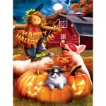 Puzzle  Sunsout-28737 XXL Pieces - Happy Halloween