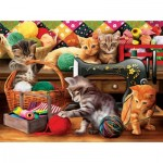 Puzzle  Sunsout-28812 Pièces XXL - Fun in the Craft Room