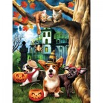 Puzzle  Sunsout-28826 XXL Pieces - Halloween HiJinx