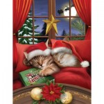 Puzzle  Sunsout-28836 XXL Pieces - To All a Merry Christmas