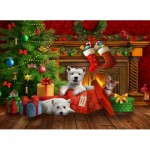 Puzzle  Sunsout-29734 Tom Wood - The Perfect Gift