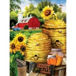Puzzle  Sunsout-29810 Tom Wood - Bee Farm
