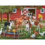 Puzzle  Sunsout-30410 Pièces XXL - Welcome the New Pony