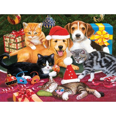 Puzzle  Sunsout-30418 XXL Pieces - Christmas Meeting