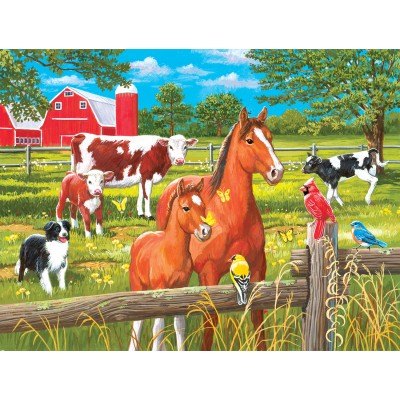 Puzzle  Sunsout-30450 William Vanderdasson - Spring Pasture