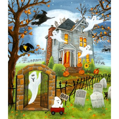 Puzzle  Sunsout-32731 XXL Pieces - Haunted Haven