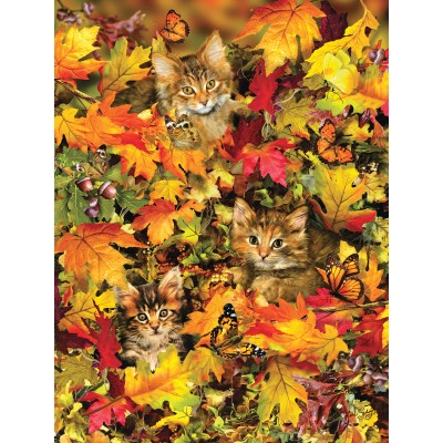 Puzzle  Sunsout-35059 XXL Pieces - Lori Schory - Kitties at Play