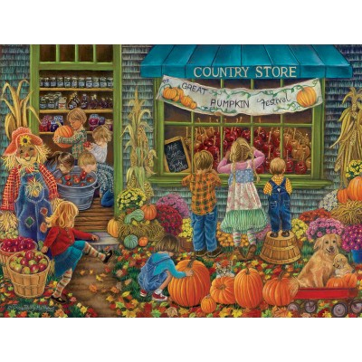 Puzzle  Sunsout-35822 XXL Pieces - Pumpkin Festival