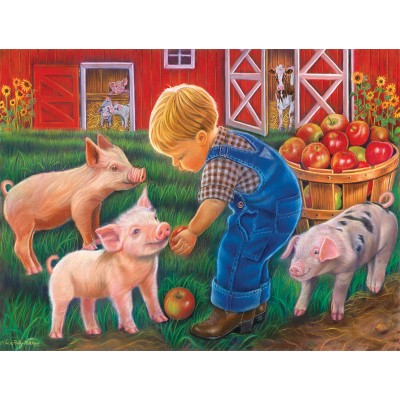 Puzzle  Sunsout-35838 XXL Pieces - Farm Boy