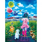 Puzzle  Sunsout-35889 XXL Pieces - HopScotch