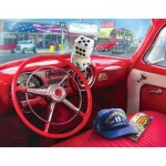 Puzzle  Sunsout-37133 XXL Pieces - Greg Giordano - American Car