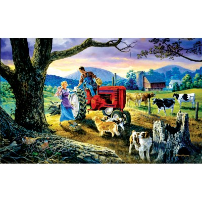 Puzzle  Sunsout-38877 XXL Pieces - The Yellow Ribbon