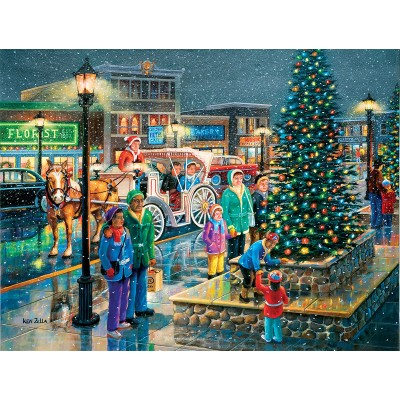 Puzzle  Sunsout-39445 XXL Teile - Holiday Lights