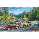Puzzle  Sunsout-39778 XXL Pieces - Holiday Traffic