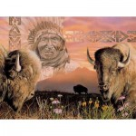 Puzzle  Sunsout-40064 XXL Pieces - Keeper of the Plains