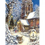 Puzzle  Sunsout-44121 Pièces XXL - Church in the Snow