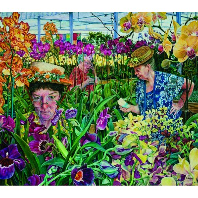 Puzzle  Sunsout-44232 XXL Pieces - Orchid Society
