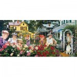 Puzzle  Sunsout-44383 Susan Brabeau - Ladies Garden Club