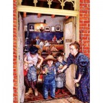 Puzzle  Sunsout-44617 XXL Pieces - Her Little Rascals
