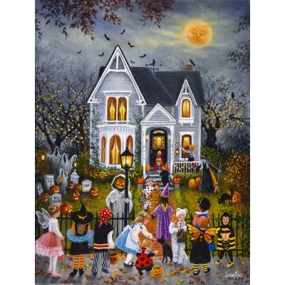 Puzzle  Sunsout-45436 XXL Pieces - Susan Rios - Scary Night