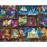 Puzzle  Sunsout-48432 Alixandra Mullins - Library Adventures in Reading