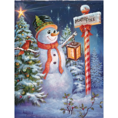 Puzzle  Sunsout-49130 XXL Pieces - North Pole or Bust