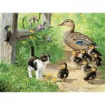 Puzzle  Sunsout-51917 XXL Pieces - Duck Inspector