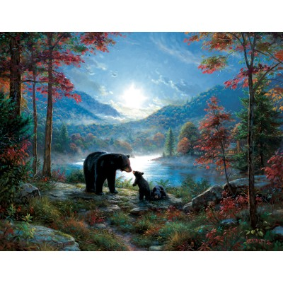 Puzzle  Sunsout-52966 XXL Pieces - Mark Keathley - Bedtime Kisses