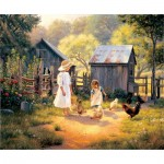Puzzle  Sunsout-53036 Mark Keathley - Doing our Chores