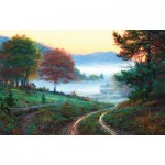 Puzzle  Sunsout-53053 XXL Pieces - Morning at Cades Cove